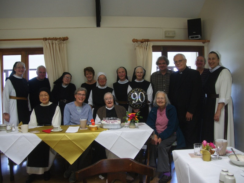 Sr Elizabeth Celebrates her 90th Birthday
