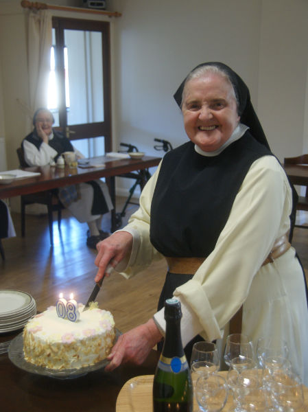 Sr Jean Celebrates her 80th Birthday